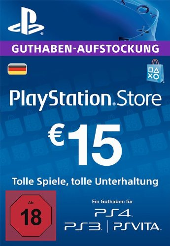 Official PSN 15 EUR (DE) - PlayStation Network Gift Card