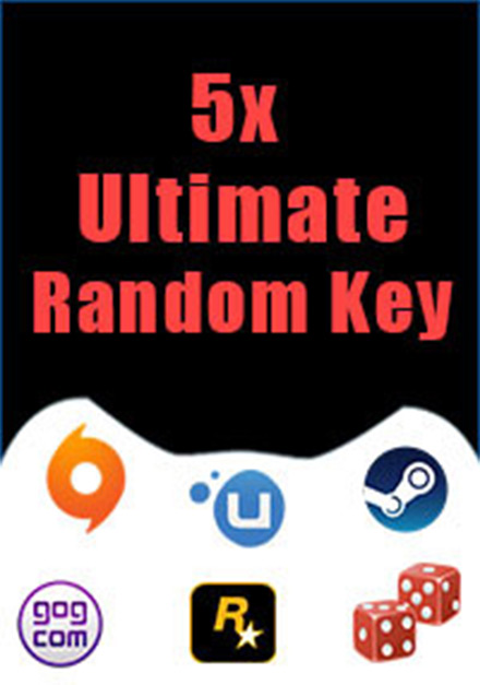 5 Ultimate Random Keys