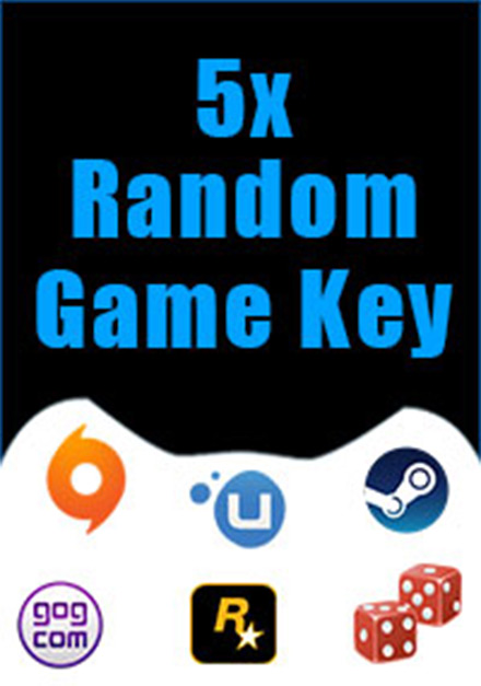Official 5 Random Keys