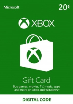 Official Xbox Live 20 Euro Gift Card