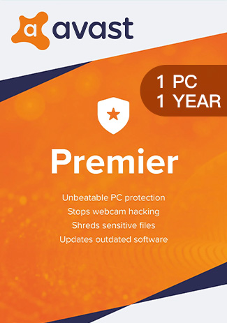 Official Avast Premier - 1 PC / 1 Year