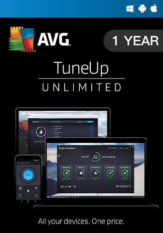 Official AVG Tuneup Unlimited - 1 Year