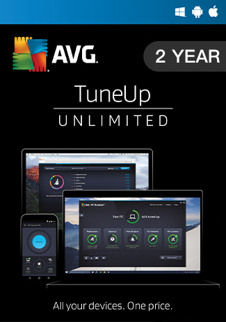 Official AVG Tuneup Unlimited - 2 Year
