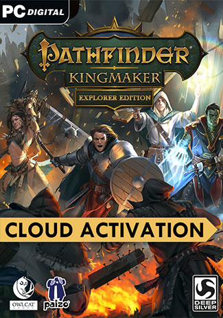 Official Pathfinder: Kingmaker Explorer Edition (PC/Mac/Cloud Activation)