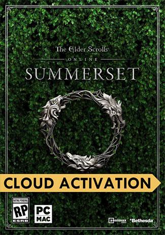 Official The Elder Scrolls Online: Summerset Standard Edition (Steam Cloud Activation)