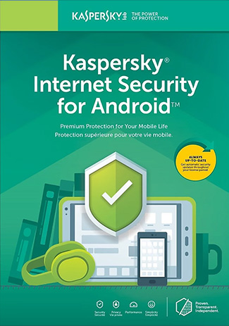 Official Kaspersky Internet Security for Android - 1 Device - 1Year