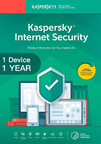 Official Kaspersky Internet Security Multi Device - 1 Device - 1 Year
