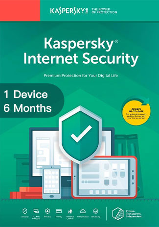 Official Kaspersky Internet Security Multi Device - 1 Device - 6 Months