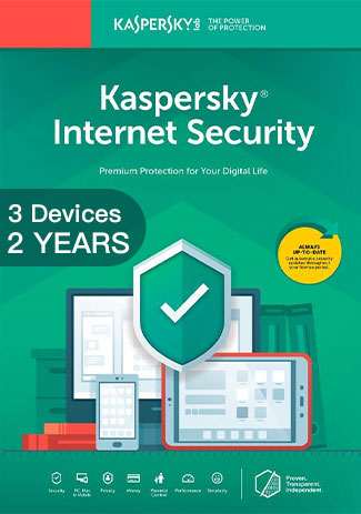Official Kaspersky Internet Security Multi Device - 3 Devices - 2 Years