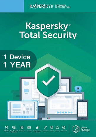 Official Kaspersky Total Security Multi Device - 1 Device - 1 Year