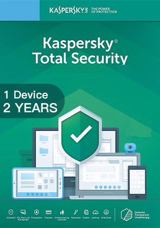 Official Kaspersky Total Security Multi Device - 1 Device - 2 Years