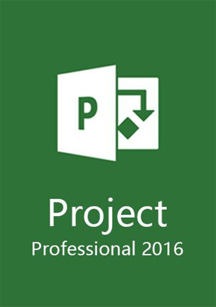 Official Microsoft Project Professional 2016 for (PC)