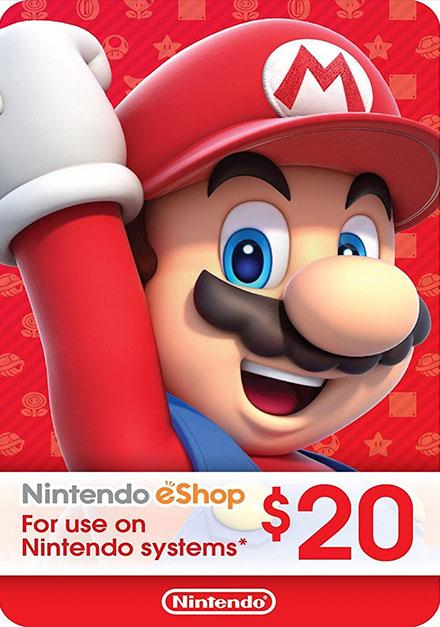 Official Nintendo Cards 20 USD
