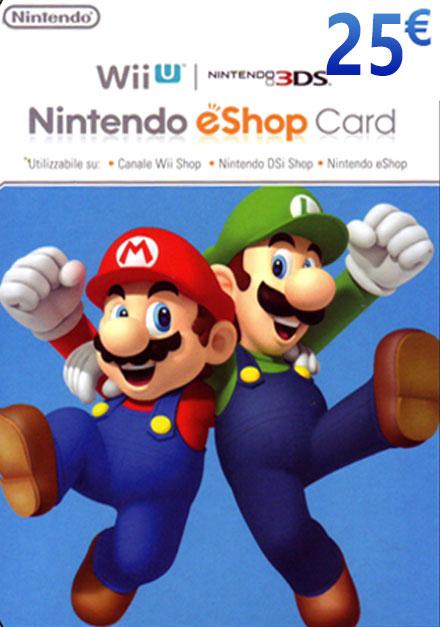 Official Nintendo Cards 25 EUR
