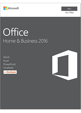 Official Microsoft Office 2016 Home & Business (For Mac)