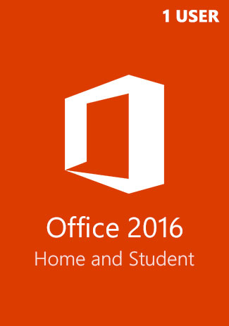 Official Microsoft Office 2016 (Home and Student - 1 User)