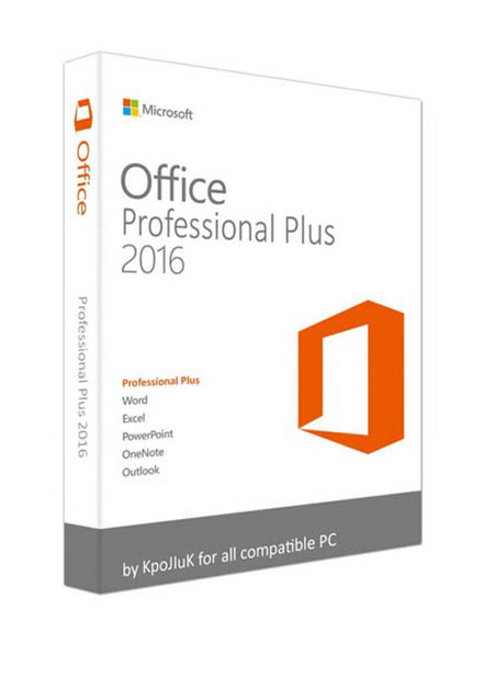 Official Microsoft Office 2016 Pro Professional Plus CD-KEY