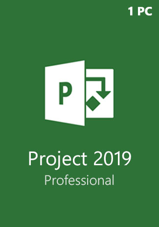 Official Microsoft Project Professional 2019 (1PC)