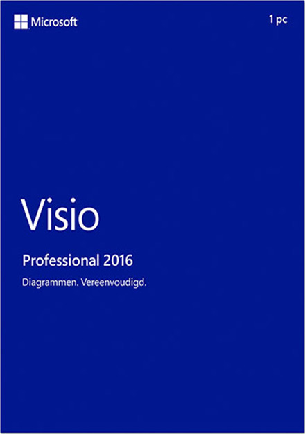 Microsoft Visio Pro Professional 2016