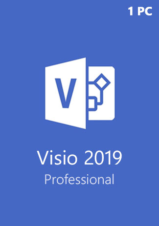 Official Microsoft Visio Professional 2019 (1PC)