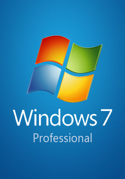 Official Windows 7 Pro Professional CD-KEY