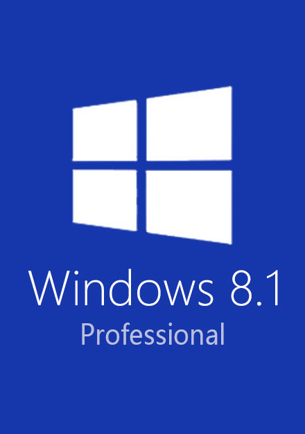 Official Windows 8.1 Pro Professional CD-KEY (32/64 Bit)