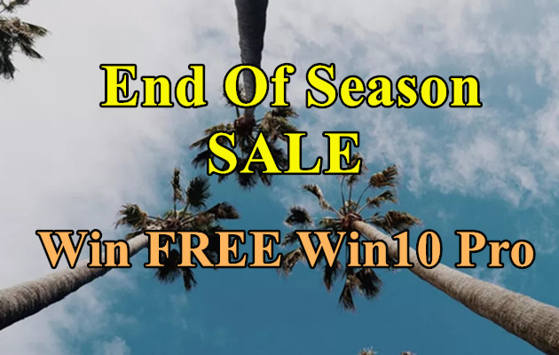 End Of  Month SALE&GIVEAWAY: Win FREE Win 10 Pro💞💞