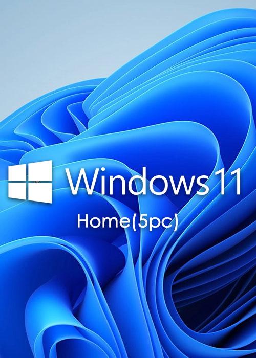 Official Microsoft Windows 11 Home OEM CD-KEY GLOBAL(5PC)