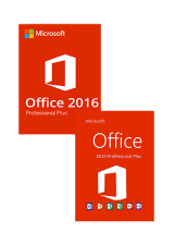 Official Office 16 Professional Plus + Office 19 Professional Plus CD Key Pack