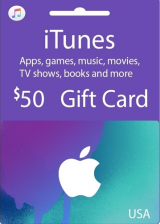 Apple iTunes $50 Gutschein-Code US iPhone Store