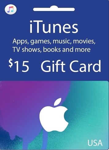 Official Apple iTunes $15 Gutschein-Code US iPhone Store