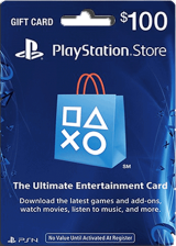 Official PSN 100 USD / PlayStation Network Gift Card US Store