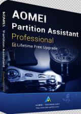 Official AOMEI Partition Assistant Professional + Free Lifetime Upgrades 8.6 Edition Key Global